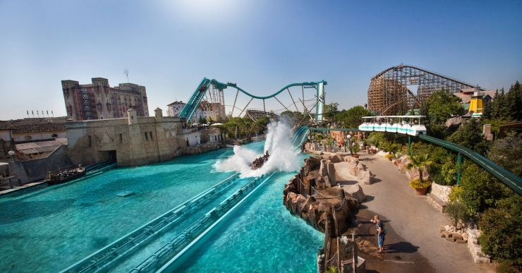 Bild von Atlantica SuperSplash im Europa-Park in Rust