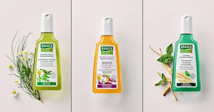 3 Shampoo Gratismuster von Rausch